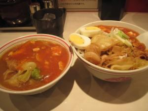 半蒙古丼・半蒙古タンメン