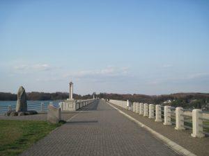 狭山湖の公園