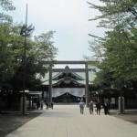 新緑の靖国神社