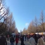 初詣@靖国神社