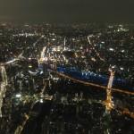 東京スカイツリーに行ってきた(夜編)