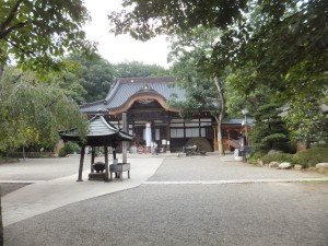 深大寺の本堂