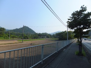 長瀞の駅の近く