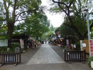 深大寺の入り口