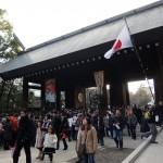 初詣は靖国神社へ!