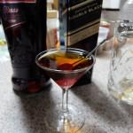 ミキシンググラスを使ってロブ・ロイを作ってみた。
