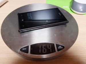 装着後の重量