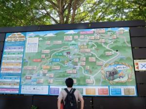 ハイキングコース案内図
