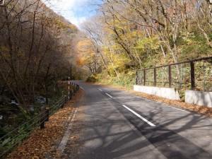 大内宿への道