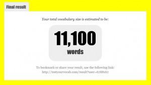 英検1級の単語を覚えた結果
